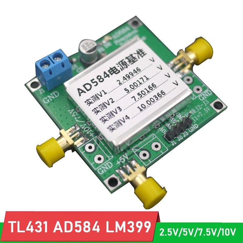 Earnest Tl431 Ad584 Lm399 High Precision Voltage Reference 2.5v/5v/7.5v/10v Reference Source For For Voltmeter Calibration, Adc Dac