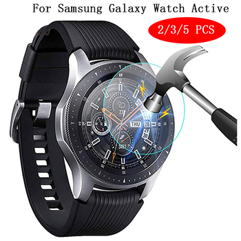 2/3/5 PCS 9H HD Tempered Glass Screen Protector Film For Samsung Galaxy Watch Active Transparent Screen Protection Tempered Film protective clear screen protector film for lg nexus 5 e980 transparent 10 pcs