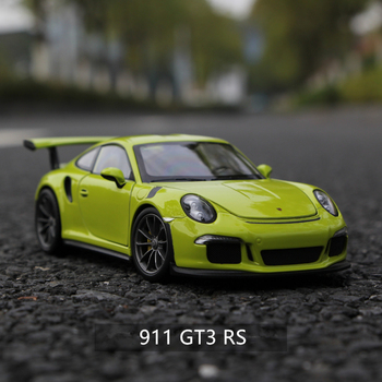 welly 1:24  Porsche 911 GT3 RS green car alloy car model simulation car decoration collection gift toy Die casting model boy toy welly 1 24 mercedes amg gtr green car alloy car model simulation car decoration collection gift toy die casting model boy toy