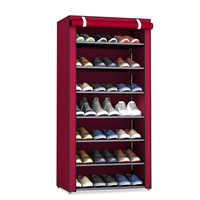 Пылезащитный 8 слоев 10 слоев обувной шкаф тканевая мебель для дома спальни общежития обувной стеллаж Органайзер Ins минималистский