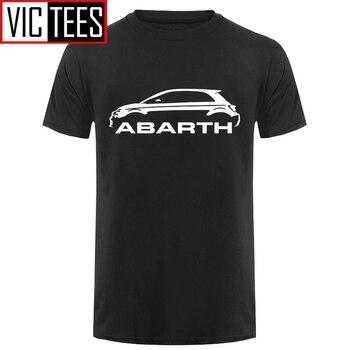 Men Men T shirt Fiat 500 Abarth Classic Car s High Quality Round Neck s funny t-shirt novelty tshirt motorcycle slim t shirt men s tide long sleeved t shirt men s milk silk round neck casual men s autumn blouse