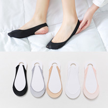Woman Sock Slippers Summer Short Invisible-Slippers Thin No-Show New Solid