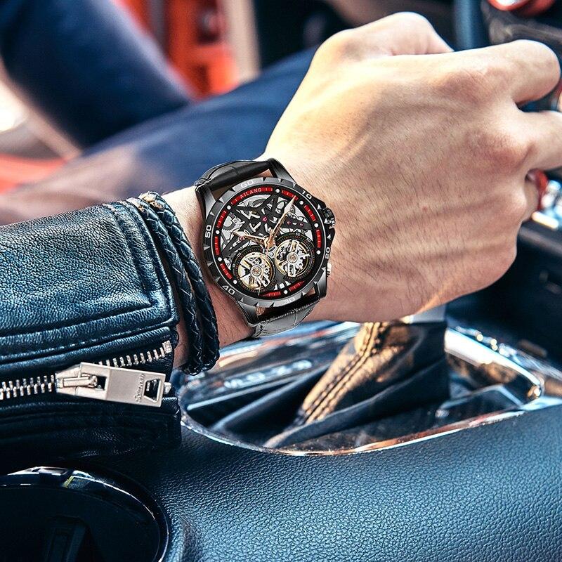 Купить ailang оригинальные мужские часы с двойным турбийоном автоматические