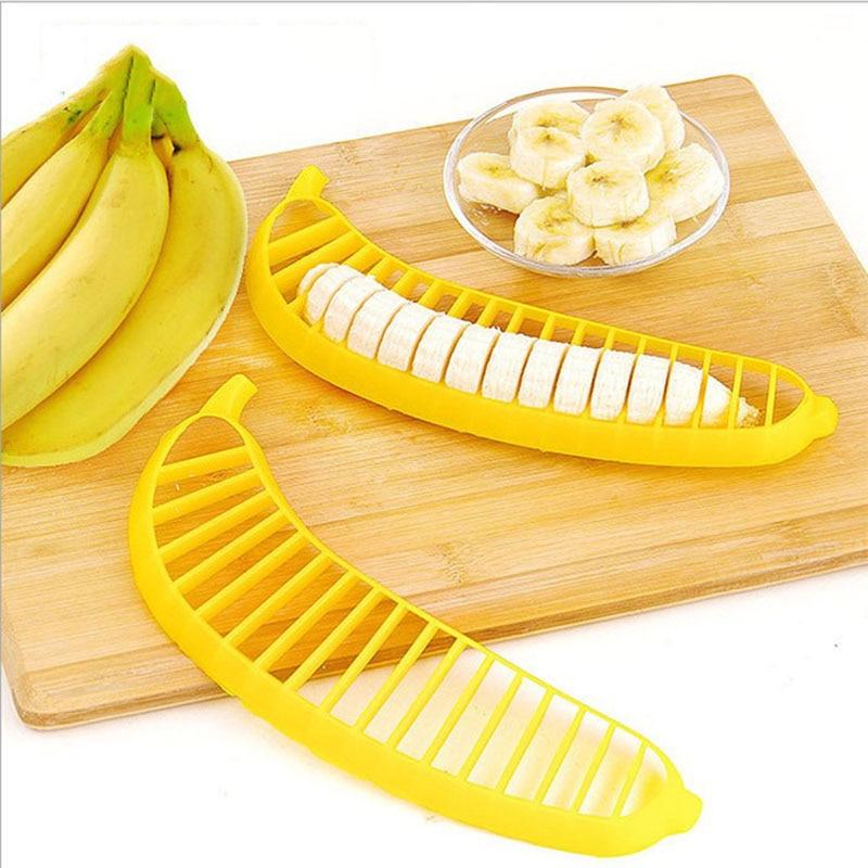 Műanyag banán szeletelő aprító Banán elválasztó eszközök - Konyha, étkező és bár