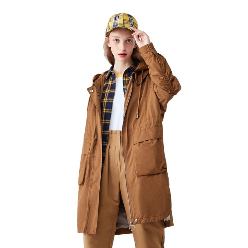 SEMIR 2020 hiver veste femmes décontracté basique manteaux grande taille dames basique vestes imperméable coupe-vent manteaux femme