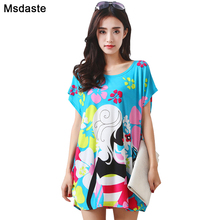Summer Plus Size Women Tees T Shirt 2020 New Printed Shirts Top Floral Cartoon Print Woman Tshirt Tops Tunics Mujer Lady