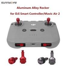 Sunnylife Mavic aire 2S de aleación de aluminio de Control palos mecedora de pulgar Joysticks para controlador inteligente de aire/aire 2 Mini 2 controlador remoto