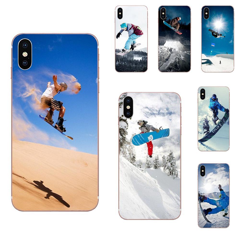 For Samsung Galaxy J8 J7 J6 J5 J4 J3 J2 prime pro core 2018 2017 2016 2015 Cover Enjoy Snow Or Die Ski Snowboard