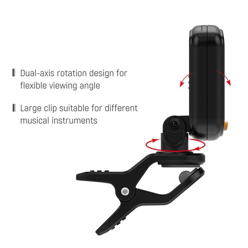 Juodos gitaros derintuvo pasukamas prisegamas imtuvo LCD ekranas, - Muzikos instrumentai - Nuotrauka 5