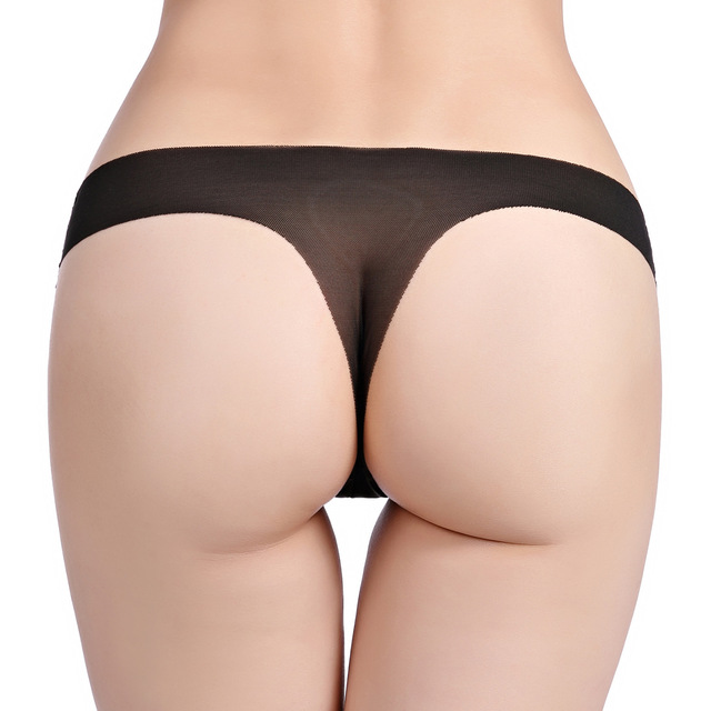 Hot Sale Sexy Women Cotton G String Thongs Low Waist Sexy Panties Ladies' Seamless Underwear T-back Woman Intimate Panty Thong