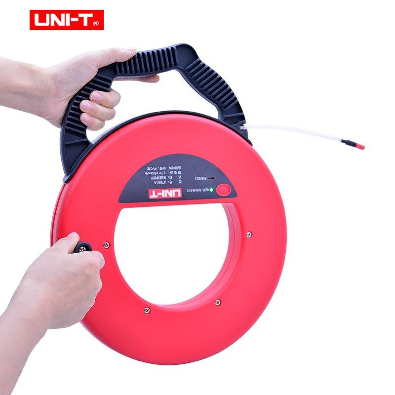 Tools : UNI-T UT661A UT661B Wall PVC Iron Pipe Blockage Detector Diagnostic-tool Scanner Pipeline Blocking Clogging Plumbers Instrument