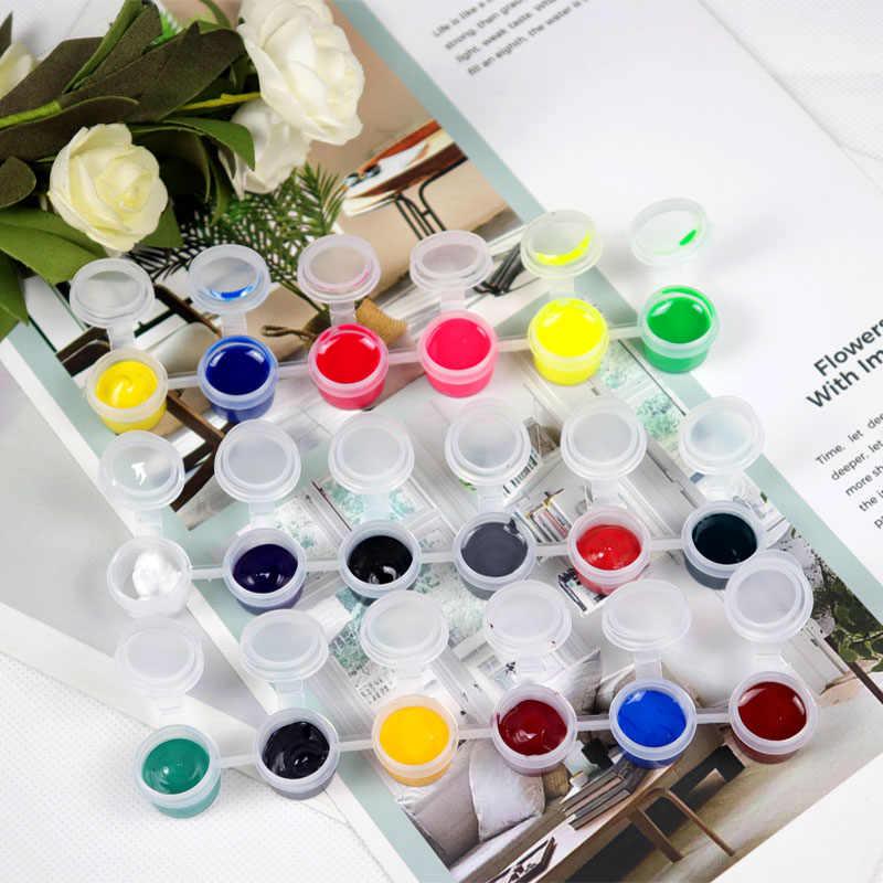 Pasta de resina de colores epoxi pigmento en gel constructor colorante para molde DIY pegamento manualidades Material de resina AB herramientas de joyería