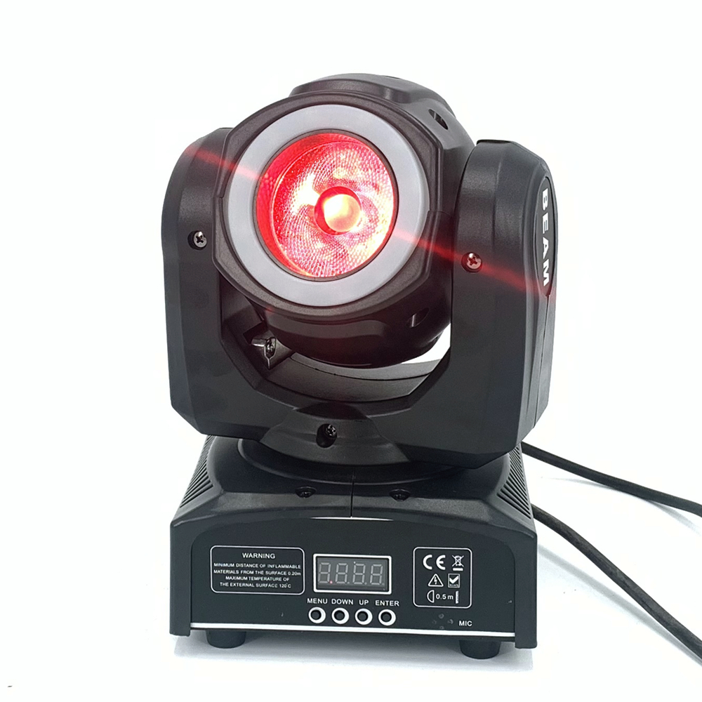 Dj Beam Mini Moving Head 65W Met 12LED SMD5050 Rgb Led Licht Super Heldere 60W Led Dj Spot licht Dmx - 5