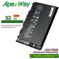 Apexway 14,8 v 52Wh batería de ordenador portátil para HP EliteBook Folio 9470 a 9470M de la serie HSTNN-IB3Z HSTNN-I10C BT04XL BA06 687517-1C1
