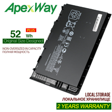 Apexway 14.8v 52Wh Laptop Battery for HP EliteBook Folio 9470 9470M Series HSTNN-IB3Z HSTNN-I10C BT04XL BA06 687517-1C1 jigu laptop battery bl06042xl bl06xl hstnn db5d hstnn ib5d hstnn w02c for hp for elitebook folio 1040 g0 g1 l7z22pa