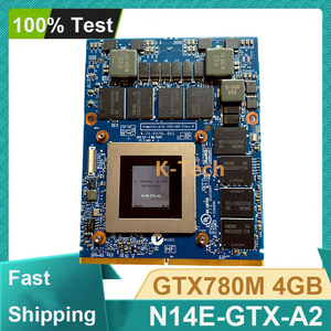 Original GTX 780M GTX780M 4GB N14E-GTX-A2 Video Graphic Card For Dell M17X R5 R4 M18X R2 R3 R4 Display Card Clevo Laptop(China)