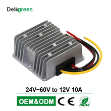 24V 36V 48V 60V to 12V 10A DC DC Converter Regulator Car Step down Reducer Buck converter power supply цена