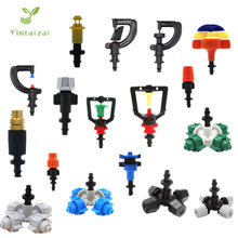 Greenhouse Upside Down Micro-Sprinkler With Barbed Connector WaterSaving Nozzle Atomized Spray Rotating Drip Irrigation Fittings