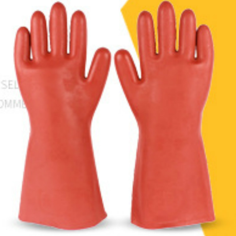 Insulated Gloves Electrical Protective Gloves Live Working Gloves High-voltage Rubber Gloves Gloves Work  Brand Gloves