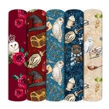 Tissu magique imprimé de personnages de dessins animés, en Polyester et coton, pour la couture de textiles de maison, pour l'artisanat, 1Yc16670