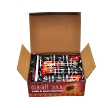 One Box carry 100pieces  Hookah Charcoal Quick-Lighting Long Time Burns More Fully  Sheecha/Chicha/Narguile Charcoal Accessories