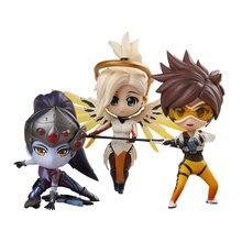 Overwatch wersja Q Tracer Angela Ziegler Mercy Widowmaker pcv figurka Anime Toy