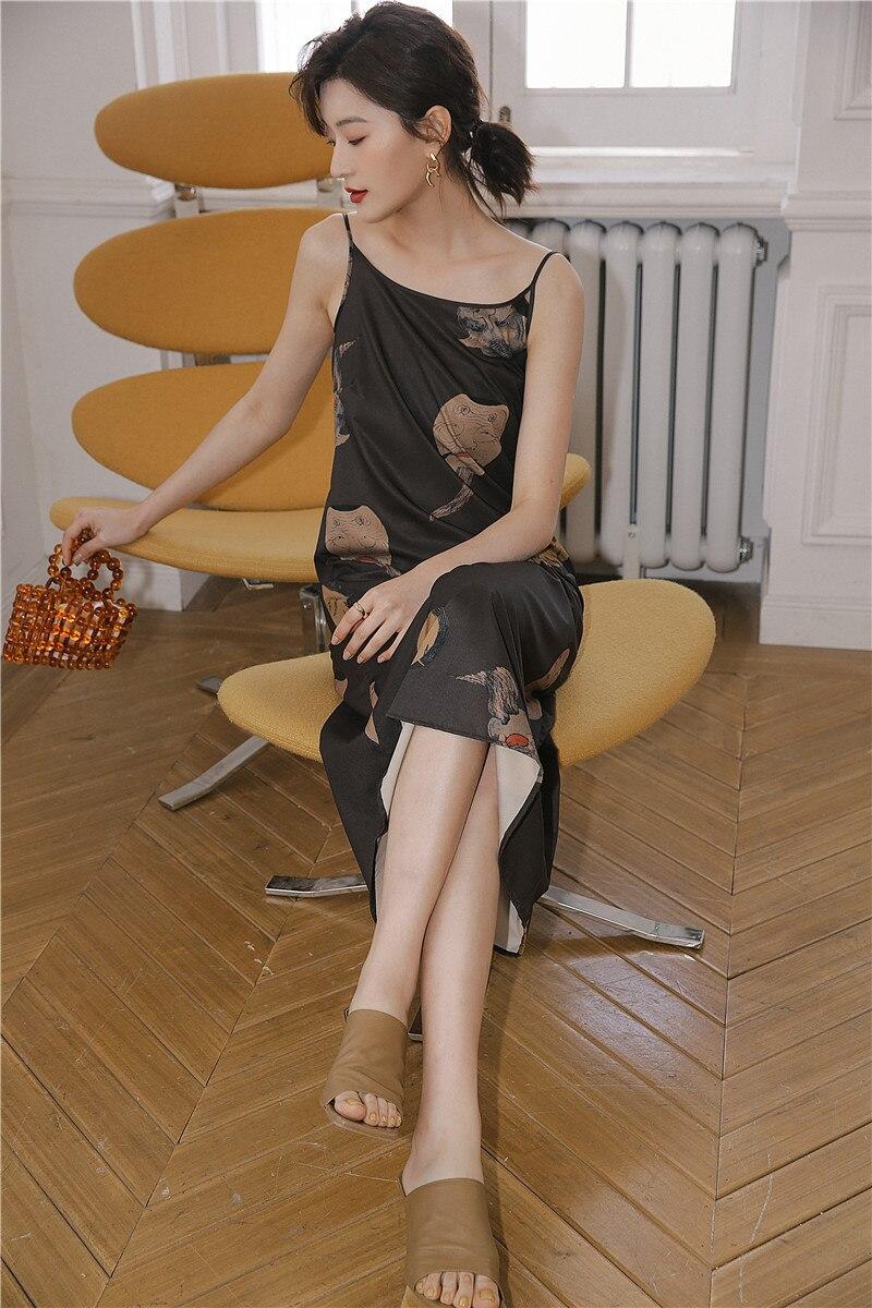 Aesthetic Slip Dress