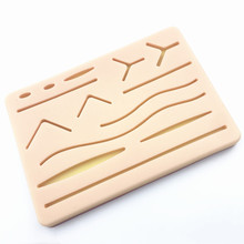 Y Traumatic Skin Suture Training model Pad with Wound silicone suture Practice pad Teaching equipment