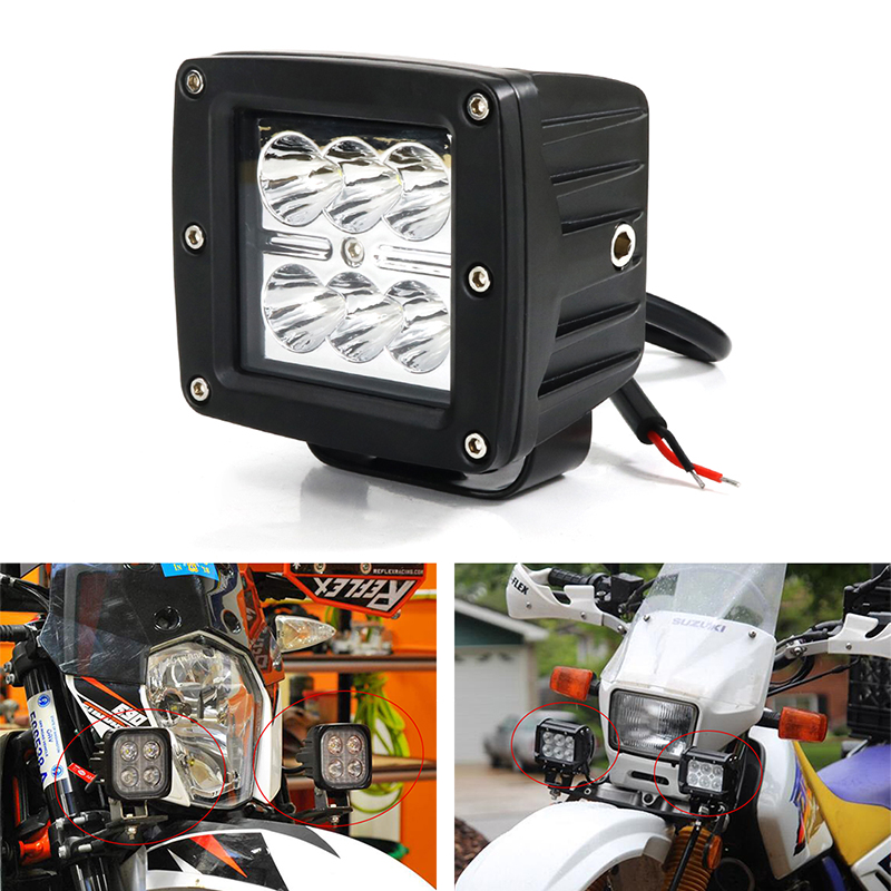 Additional Light LED Auxiliary Light For <font><b>KTM</b></font> 625 SMC 640 660 690 SMC <font><b>950</b></font> <font><b>SM</b></font> 990 SMR 690 Enduro <font><b>950</b></font> Adventure 1090 Adventure image
