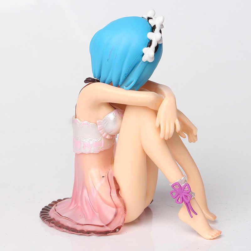 11.5Cm Lại: Cuộc Sống Trong Một Thế Giới Khác Từ Không Swimsuit Ver. Rem Hình Gợi Cảm Hành Động Hình Anime Nhật Bản Nhân Vật PVC Đồ Chơi Mô Hình