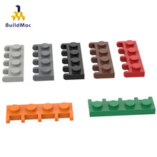 Buildmoc compatível monta partículas 4315 1x4 vintage joint board blocos de construção peças diy elétrico