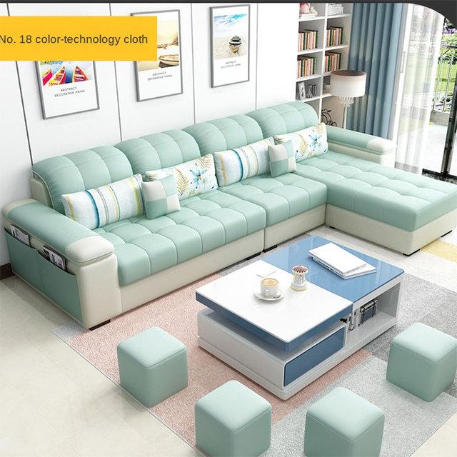 Karois Modern Cloth Sofa 4