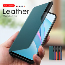 3D Side Window Leather Flip Case On For Xiaomi Mi 10T Lite 10T Pro Mi10 10 T Mi10t Mi10tpro Mi10tlite 10tpro 10tlite Phone Cover