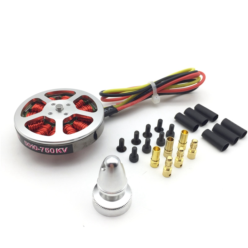 <font><b>5010</b></font> 750KV High Torque <font><b>Brushless</b></font> <font><b>Motors</b></font> for MultiCopter QuadCopter Multi-Axis Aircraft image