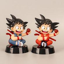 Nova ação juventude filho goku figura bolo decoração do carro anime modelo pvc brinquedos presentes 10cm