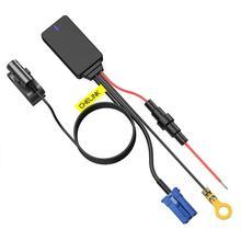 Adaptador de Audio estéreo inalámbrico, manos libres, Bluetooth 4,0, Aux, para conector de 8 pines, Compatible con Skoda, Polo, EOS, Golf, Passat, Toura