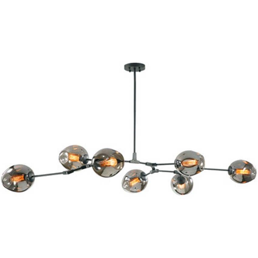 Современное освещение люстры молекулярная лампа одежда декоративное стекло шар блеск гостиная спальня люстра столовая светильник