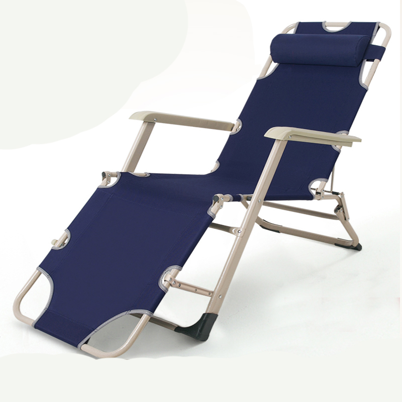 Multifunctional Marching Recliner Lunch Break Single Portable Escort Nap Bed Office Small Simple Portable Folding Bed