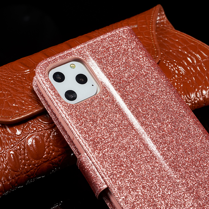 Bling Glitter Leather Case for iPhone 11/11 Pro/11 Pro Max 9