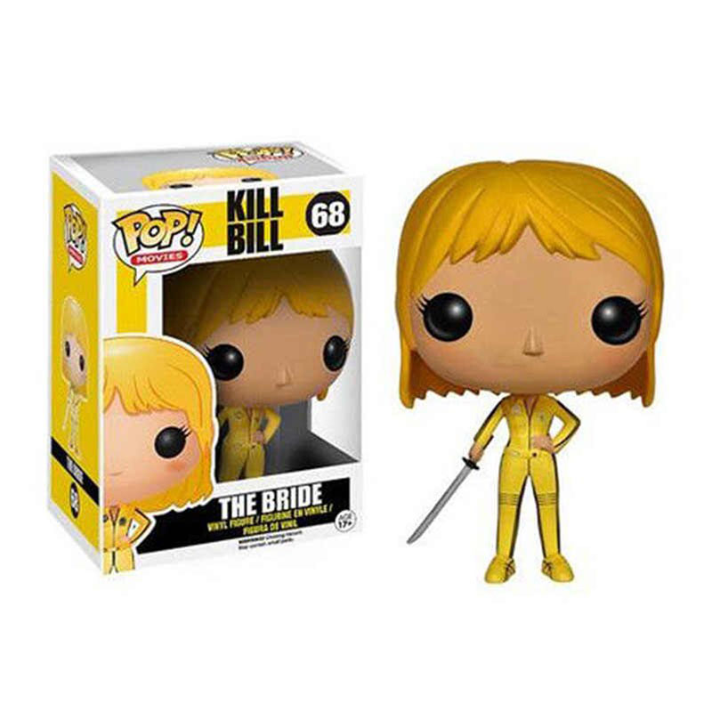 Funko Pop Kill Bill Vol.1 THE BRIDE #68 виниловая экшн-фигурка куклы игрушки