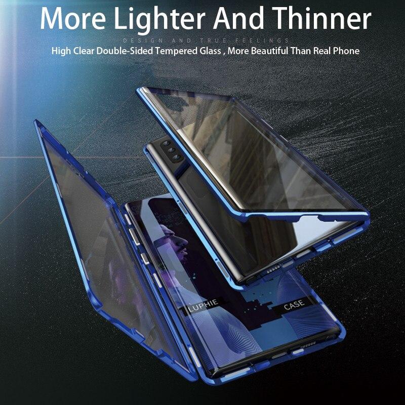 Для Samsung Galaxy A7 A8 A9 A10 A30 A50 A60 A70 A80 металлический каркас двухсторонние закаленные Стекло