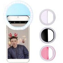 Led Selfie Ring Light Novelty Makeup Lightings Led Selfie Lamp Mobile Phones Photo Night