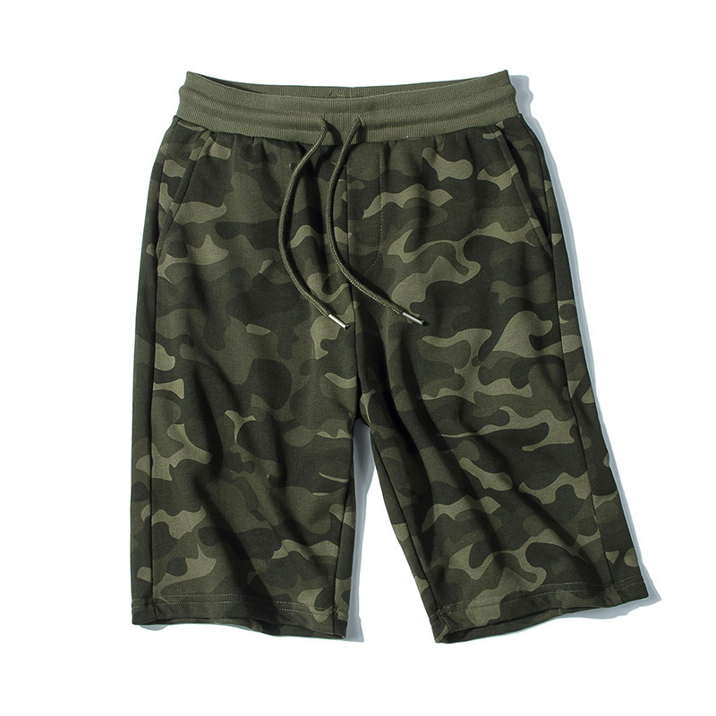 Men Casual Camouflage Shorts Comfortable Short Beach Shorts Summer Loose-Fit Athletic Pants Running Sports Sweatpants
