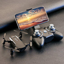 KK8 Foldable Mini drones Drone RC FPV Quadcopter HD Camera Wifi FPV Dron Selfie RC Helicopter juguetes Toys for boys girls kids(China)