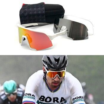 Cycling glasses profession polarized sport eyewear Outdoor Sport road Racing photochromic Peter Sunglasses Bike Glasses
