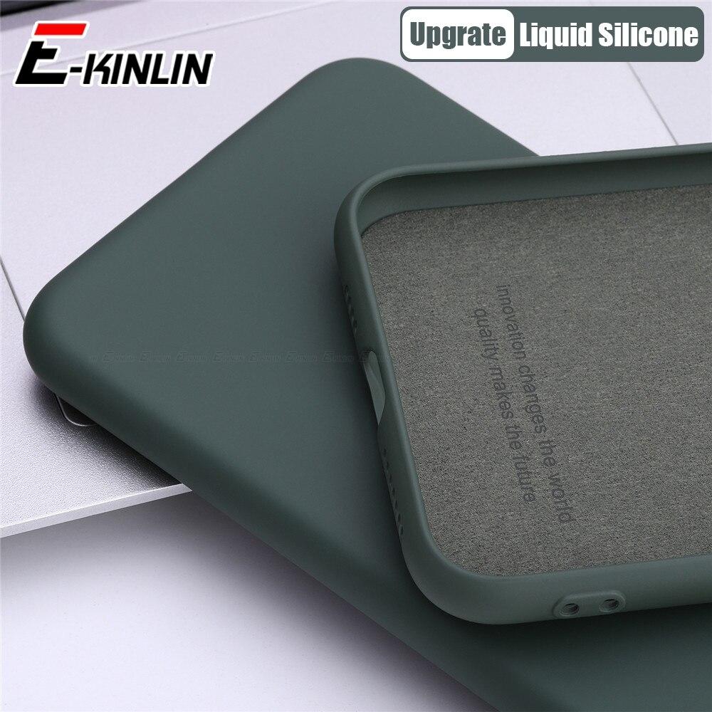 Funda de teléfono de silicona líquida fina TPU suave para Meizu 17 16T 16Xs 16s Pro 16 X 16th Plus funda protectora completa Original