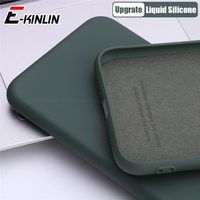 Funda de teléfono de silicona líquida fina TPU suave para Meizu 18 17 16T 16Xs 16s Pro 16 X 16th Plus funda protectora completa Original