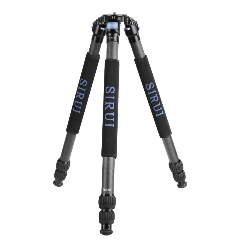 R4213X + VH15 SIRUI Carbon Fiber SLR Camera Camcorder Portable Stand Tripod