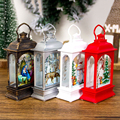 Christmas Decorations For Household Party Lanterns LED Candles Christmas Tree Decorations Santa Claus Elk Lights