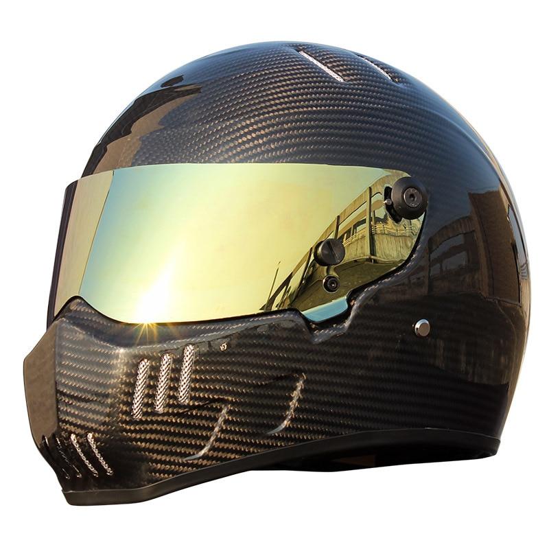 Simpson Full Face Crg Atv-6 Carbon Fiber Personalized Motorcycle Helmet